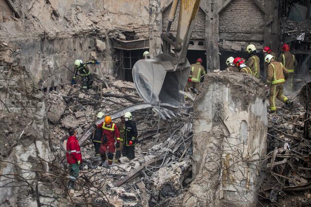 مقصران و عوامل حریق ساختمان پلاسکو مشخص شدند