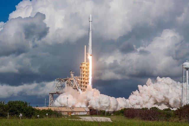 ماهواره جاسوسی توسط «اسپیس ایکس» به فضا پرتاب شد