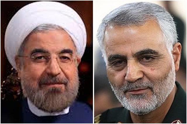 پیام سرلشکر سلیمانی به رئیس جمهوری