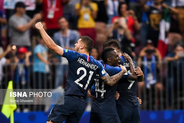 فرانسه برای دومین بار قهرمان جام جهانی شد