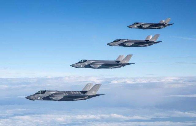جنگندههای اف ۳۵ وارد ناوگان پنجم آمریکا در بحرین شدند