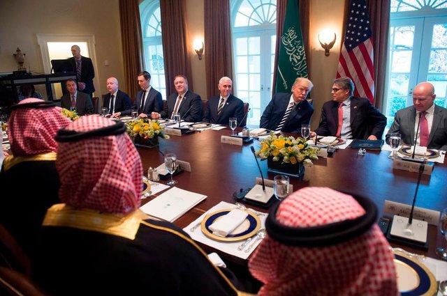 ترامپ برای مشارکت در یک عملیات سری، ۴ میلیارد دلار پول از شاه سعودی طلب کرده است