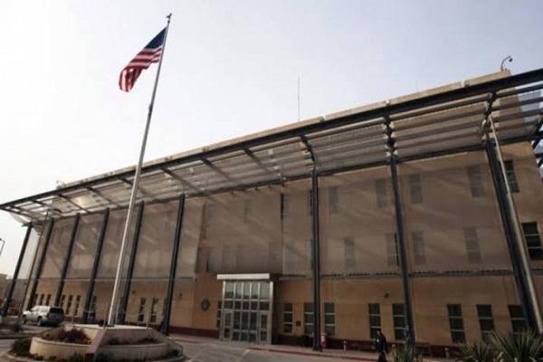 اصابت خمپاره به سفارت آمریکا در بغداد